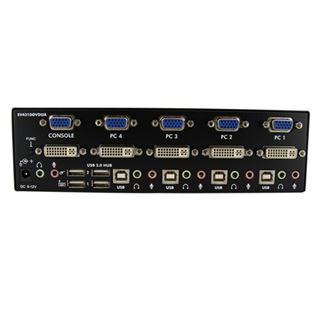 Startech SV431DDVDUA 4-fach Dualview VGA Switch