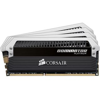 16GB Corsair Dominator Platinum Series DDR3-2666 DIMM CL12 Quad Kit