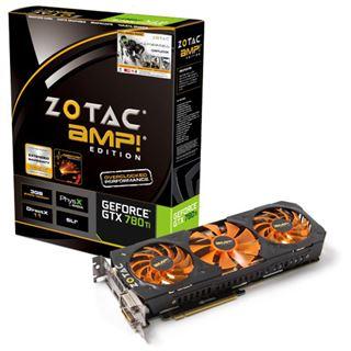 3GB ZOTAC GeForce GTX 780 Ti AMP! Edition Aktiv PCIe 3.0 x16 (Retail)