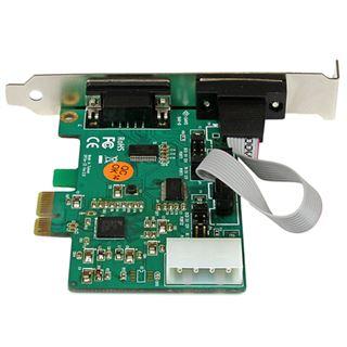 Startech PEX2S553S Seriell RS232 2 Port PCIe x1 Low Profile retail