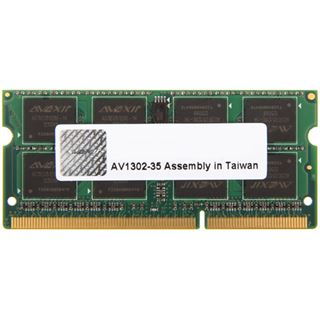 8GB Avexir Notebook Series DDR3-1600 SO-DIMM CL11 Single