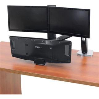Ergotron 24-392-026 Tischhalterung für 2 Monitore (24-392-026)