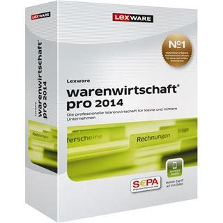 Lexware Warenwirtschaft Pro 2014 32/64 Bit Deutsch Finanzen Vollversion PC (CD)