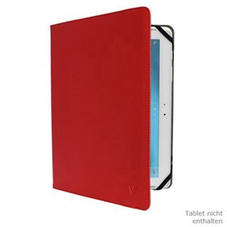 "V7 Universal Folio Case Tablet 10"" rot"