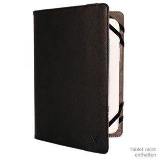 """V7 Universal Folio Case Tablet 8"""" schwarz"""