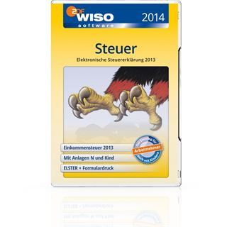Buhl Data Service WISO Steuer 2014 32/64 Bit Deutsch Finanzen Vollversion PC (DVD)