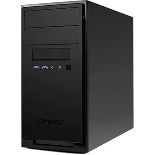 Antec NSK3100 Mini Tower ohne Netzteil schwarz