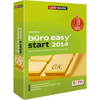 Lexware Büro easy start 2014 32/64 Bit Deutsch Finanzen Vollversion PC (CD)