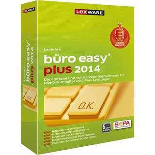 Lexware Büro easy plus 2014 32/64 Bit Deutsch Finanzen Upgrade PC (CD)