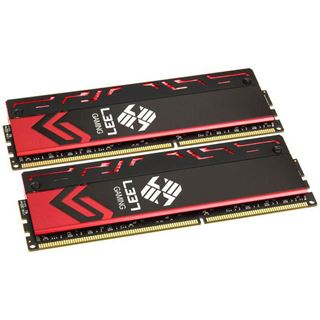 8GB Avexir Blitz Series Red LED Elitegroup-L337 DDR3-2133 DIMM CL9 Dual Kit