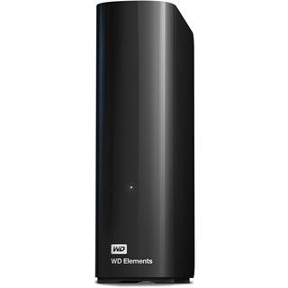 """3000GB WD Elements Desktop WDBWLG0030HBK-EESN 3.5"""" (8.9cm) USB 2.0/USB 3.0 schwarz"""