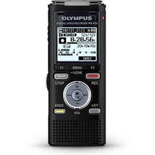 OLYMPUS WS-833 Audio Recorder schwarz