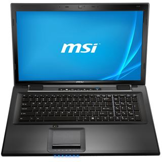"Notebook 17.3"" (43,94cm) MSI CX70-i740M281W7H"