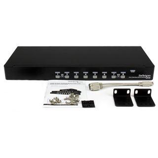 Startech SV831DUSBGB 8-fach Rackmount KVM-Switch