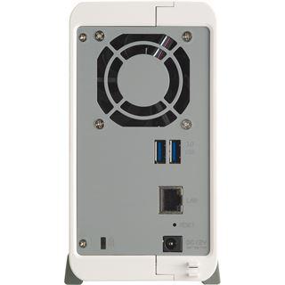 QNAP Turbo Station TS-212-P 4 TB (2x 2000GB) WD Red