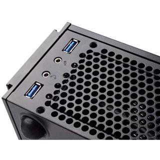 Silverstone Milo ML06 Desktop ohne Netzteil schwarz