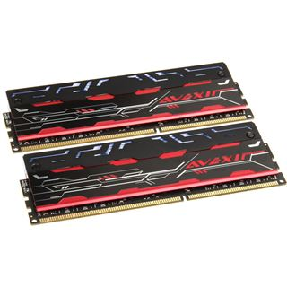 16GB Avexir Blitz 1.1 Original weiße LED DDR3-2400 DIMM CL10 Dual Kit