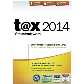 Buhl Data Service t@x 2014 32/64 Bit Deutsch Finanzen Vollversion PC (CD)