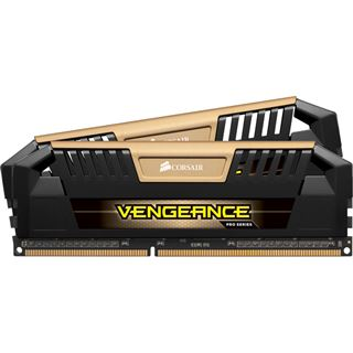 16GB Corsair Vengeance Pro gold DDR3-2400 DIMM CL11 Dual Kit