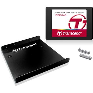 "256GB Transcend SSD340 Premium 2.5"" (6.4cm) SATA 6Gb/s MLC (TS256GSSD340)"