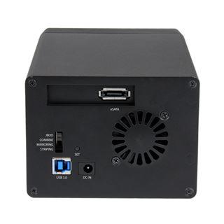 """Startech S3520BU33ER 3.5"""" (8,89cm) eSATA/USB 3.0 schwarz"""