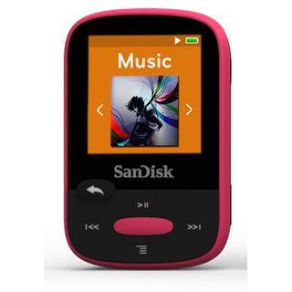 8GB SanDisk Sansa Clip Sport pink
