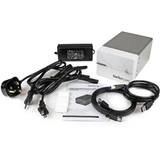 """Startech S3520WU33ER 3.5"""" (8,89cm) eSATA/USB 3.0 weiss"""