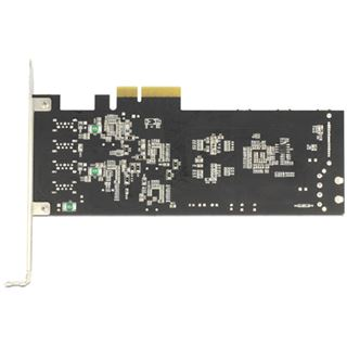 Delock 89365 USB 3.0 Quad Channel 4 Port PCIe 2.0 x4 inkl. Low Profile Slotblech/Low Profile retail