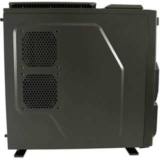 LC-Power PRO-930B - Silent Thunder Midi Tower ohne Netzteil schwarz