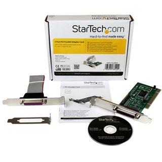 Startech PCI2PECP Parallel 2 Port PCI Low Profile/zweites Slotblech retail