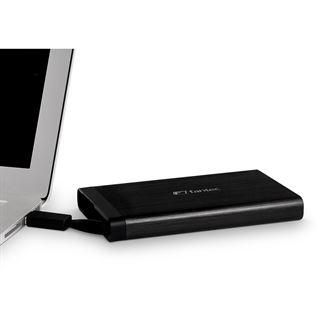 """Fantec AluLink U3 2.5"""" (6,35cm) USB 3.0 schwarz"""
