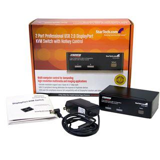 Startech SV231DPU 2-fach DisplayPort KVM Switch