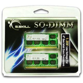 8GB G.Skill Standard DDR3L-1333 SO-DIMM CL9 Dual Kit
