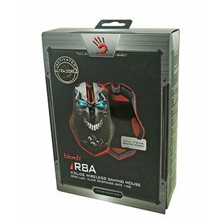 A4tech Gamer R8A Bloody USB schwarz/blau (kabellos)