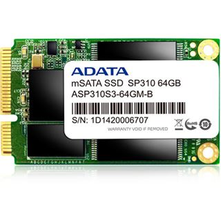 64GB ADATA Premier Pro SP310 mSATA 6Gb/s MLC (ASP310S3-64GM-C)