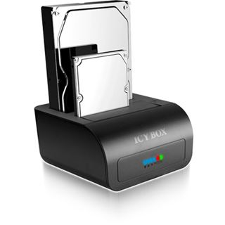 """RaidSonic ICY BOX 2fach Dockingstation für 2.5"""" und 3.5"""" Festplatten (20915)"""