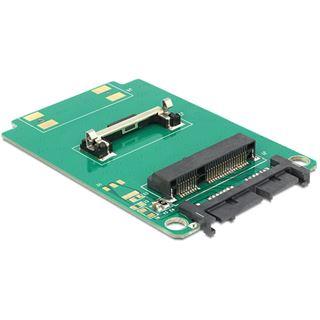 Delock 62519 Micro SATA Adapter für mSATA Half Size Festplatten (62519)
