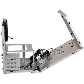 Lian Li PC-Q33A Wuerfel ohne Netzteil silber