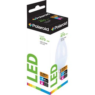 Polaroid LED Retrofit, E14, Candle, 6W (40W), 2700K