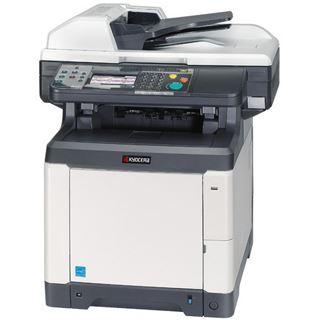Kyocera Ecosys M6026cidn Farblaser Drucken/Scannen/Kopieren Cardreader/LAN/USB 2.0