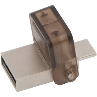 32 GB Kingston DataTraveler microDuo braun USB 2.0 und microUSB