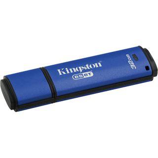 32 GB Kingston DataTraveler Vault Privacy + ESET AntiVirus blau USB 3.0