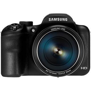 Samsung BW Digital-Fotokamera 16MP,sw WB1100F black