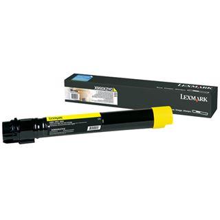 Lexmark XS955de Tonerkartusche gelb Standardkapazität 22.000 Seiten 1er-Pack Return Programme
