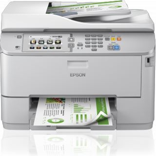 Epson WorkForce Pro WF-5690DWF Tinte Drucken/Scannen/Kopieren/Faxen USB 2.0/WLAN