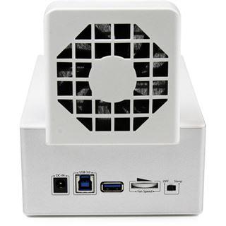 """Startech USB 3.0 Dual SATA Dockingstation für 2.5"""" und 3.5"""" Festplatten (SDOCK2U33HFW)"""