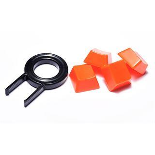 QPad MK-50 Pro Gaming Keyboard CHERRY MX Red PS/2 & USB Deutsch schwarz (kabelgebunden)