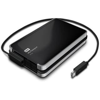 "4000GB WD My Passport Pro WDBRNB0040DBK-EESN 2.5"" (6.4cm) Thunderbolt 10Gb/s schwarz/silber"