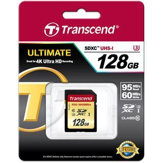 128 GB Transcend UHS-I U3 SDXC Class 10 Retail