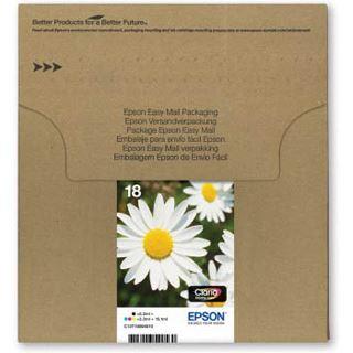 Epson Tinte 18 Multipack C13T18064510 schwarz